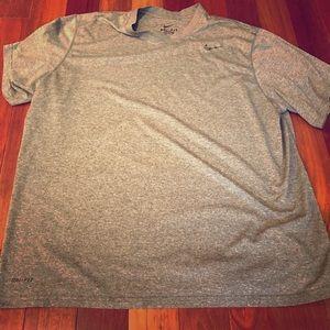 Nike Men's XXL Dri Fit Camo Swoosh Shirt